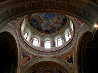 Eger, Hungary Church Rotundum Mural