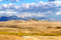 Fall On The Plain, Rocky Mountain Front, Montana