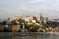 Budapest Castle District On The Danube